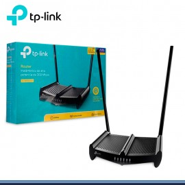 ROUTER INALAMBRICO N 300MBPS + ANTENA 9 DBI TP-LINK TL-WR841HP (G.TP LINK)