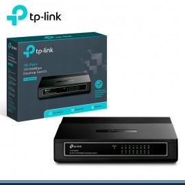 SWTCH TP-LINK TL-SF1016D 16 PORT 10/100 MBPS (G.TPLINK)
