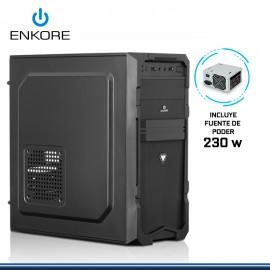CASE ENKORE DIAMOND ENC 2034 CON FUENTE 230W USB 2.0