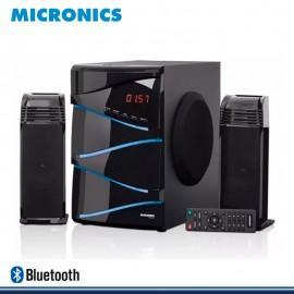 MICRONICS TORNADO MIC S7034BT SISTEMA DE AUDIO MULTIMEDIA SUBWOOFER DIGITAL 2.1