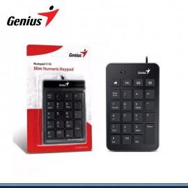 TECLADO NUMERICO GENIUS NUMPAD T120 USB BLACK (PN:31300727100)
