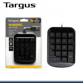 TECLADO NUMERICO TARGUS USB ( AKP10US)