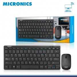 KIT SPIRIT MIC WT800 TECLADO + MOUSE WIFI SMART TV MICRONICS