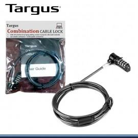 CABLE DE SEGURIDAD TARGUSP/NOTEBOOK COMBINATION LOCK(ASP61LA)