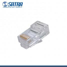 CONECTORES RJ45 SATRA CAJA * 100 UNIDADES