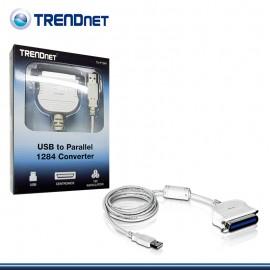 CONVERTIDOR TRENDNET DE USB A PARALELO TU-P1284