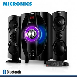 SISTEMA DE AUDIO MULTIMEDIA MICRONICS SHELBY MIC S7011BT SUBWOOFER DIGITAL 2.1