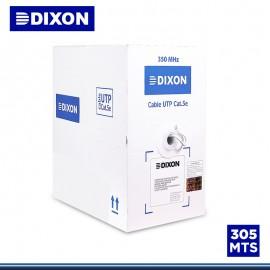 CABLE UTP DIXON 305 MTS CAT. 5E SOLIDO (P/N:7060. LSZH)
