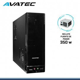 CASE AVATEC SLIM CCA-1302 BK C/FUENTE 350W REAL
