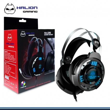 AUDIFONO GAMER HALION 5.1 HA-Z25 , 7 LED (3.5mm+ USB )