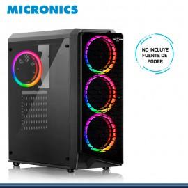CASE MICRONICS PLAYER MIC GC801 RAINBOW SIN FUENTE USB 3.0/USB 2.0