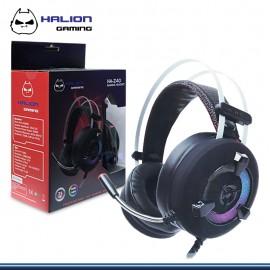 AUDIFONO GAMER HALION 7.1 HA-Z40 , RGB USB