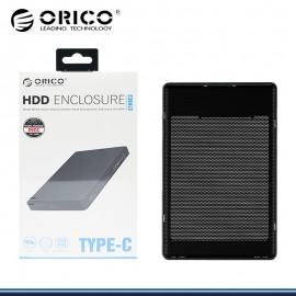 ORICO 2169C3 ENCLOUSURE PARA DISCO DURO BLACK USB 3.1 TIPO C (PN:2169C3)