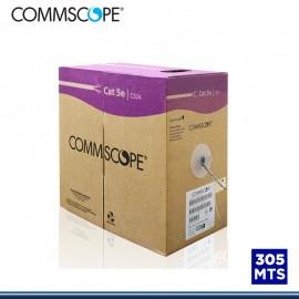 CABLE UTP COMMSCOPE CAT.5E 305 MTS GRIS (PN:884024914/10)