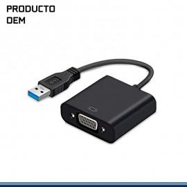 ADAPTADOR USB 3.0 DE VIDEO VGA EXTERNO