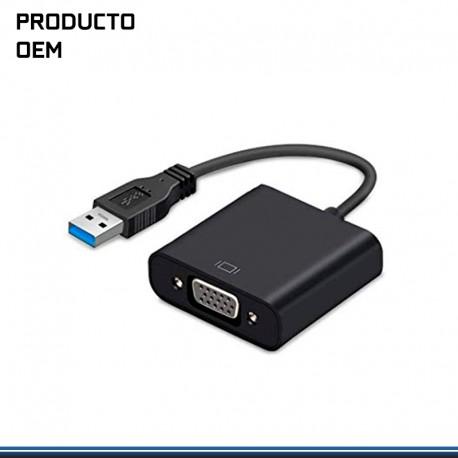 ADAPTADOR EXTERNO DE VIDEO USB 3.0 A VGA
