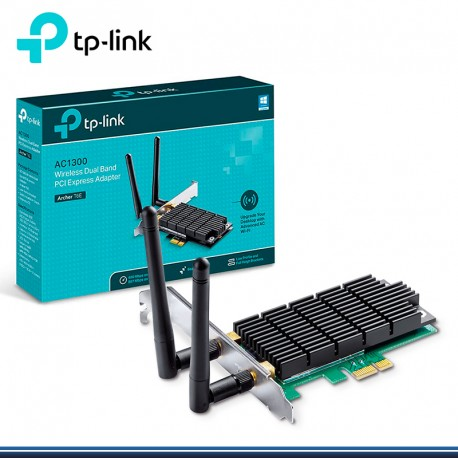 TARJETA PCI EXPRESS WIRELESS AC 1300 DOBLE BANDA TP-LINK ARCHER T6E 2 ANTENAS ( G.TP LINK)