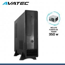 CASE AVATEC SLIM CCA-1301BK 350W