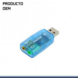 ADAPTADOR DE AUDIO STEREO 3D 5.1 USB