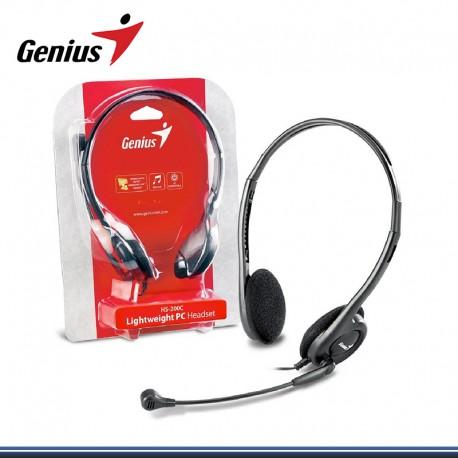 AUDIFONO C/MICROFONO GENIUS HS-M200C (PN 31710151103)