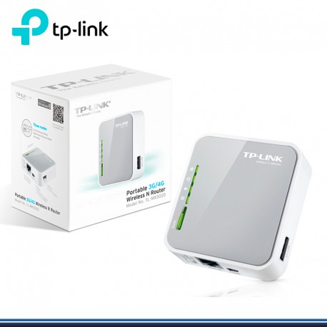 ROUTER N WIRELESS PORTABLE POCKET 3G/4GB TP-LINK TL-MR3020 (G. TP LINK)