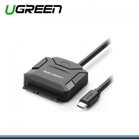 ADAPTADOR USB TIPO C UGREEN A SATA PARA 2.5 Y 3.5 (COD 1291 )