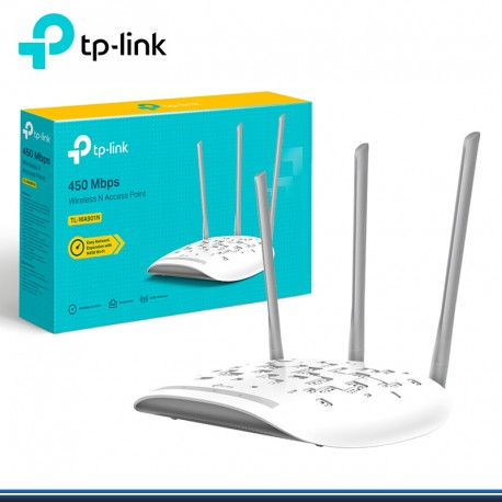 ACCES POINT 300MBPS N WIRELESS TP- LINK 3 ANTENAS, TL-WA901N (G TP-LINK)