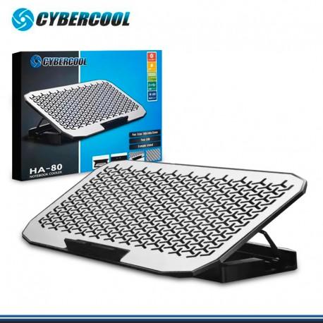 COOLER CYBERCOOL HA-80 C/2 COOLER DE ALUMINIO RECLINABLE