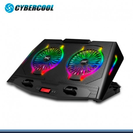 COOLER CYBERCOOL HA-N10 C/ COOLER RGB RECLINABLE