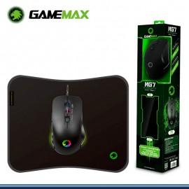 MOUSE GAMER + PAD GAMEMAX MG7 RGB 28X 23 cm