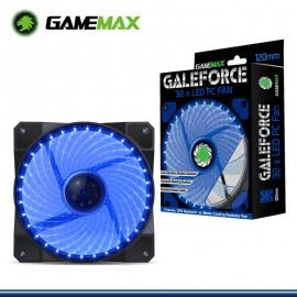 COOLER GAMEMAX GALEFORCE GMX-G12B LED AZUL DE 12 CM DE 32 PUNTOS