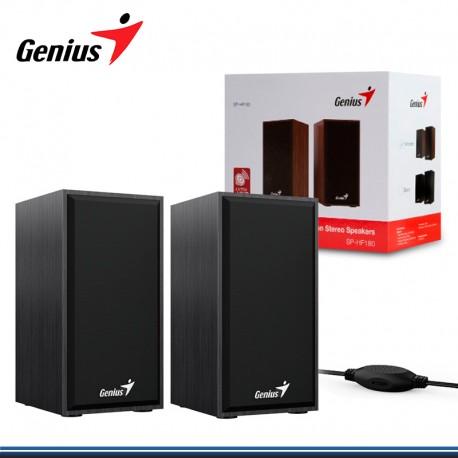 PARLANTE GENIUS SP-HF180 USB POWER 6W BLACK (PN:31730029401)