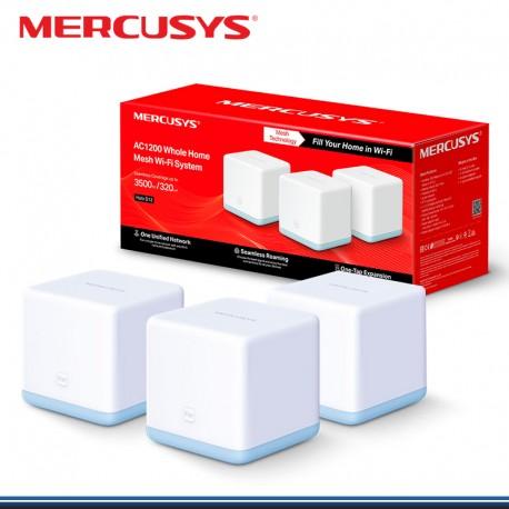 SISTEMA WIFI MERCUSYS HALOS12-3 (3- PACK ) MESH AC 1200