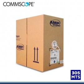 CABLE UTP AMP/COMMSCOPE CAT 6 LSZH-1 305 MTS BLANCO (PN:1427070/2)