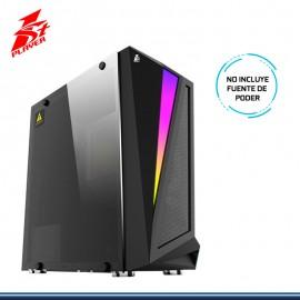 CASE 1ST PLAYER R5 RGB SIN FUENTE CON VENTANA VIDRIO USB 3.0/USB 2.0