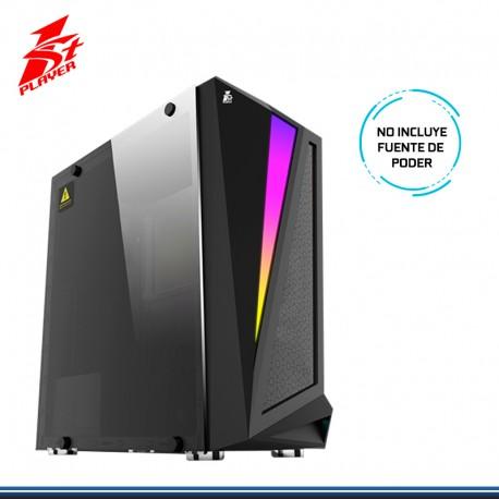 CASE GAMING 1ST PLAYER RAINBOW R5 S/FUENTE USB 3.0 BLACK