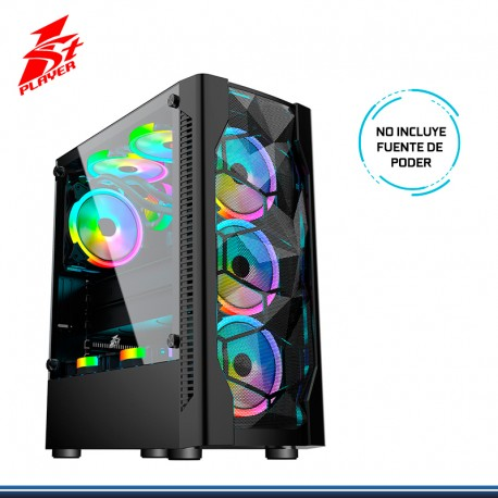 CASE GAMING 1ST PLAYER D4 NEGRO S/FUENTE USB 3.0