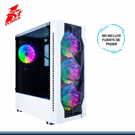 CASE GAMING 1ST PLAYER D4 BLANCO S/FUENTE USB 3.0