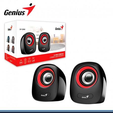 PARLANTE GENIUS SP-Q160 USB POWER 6W RED (PN 31730027401)