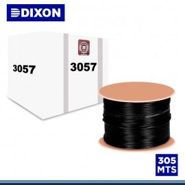 CABLE STP DIXON CAT. 5E NEGRO CCA 4PX24WG EXTERIORES UV 305M (3057)
