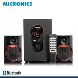 MICRONICS FUNKY BLED MIC S7077BT SISTEMA DE AUDIO MULTIMEDIA SUBWOOFER DIGITAL 2.1