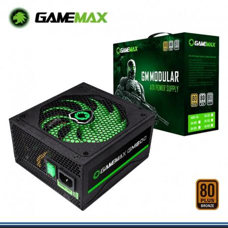 FUENTE DE PODER GAMEMAX GM-800W MODULAR , 80 PLUS BRONZE 2.31 ATX