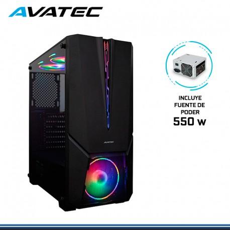 CASE AVATEC CCA-5002B C/FUENTE 550W