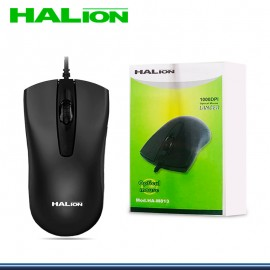 MOUSE HALION LANCER HA-M813 NEGRO USB