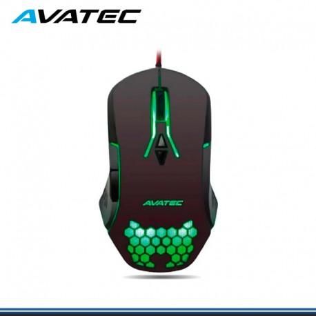 MOUSE AVATEC CMS-8405B RGB NEGRO USB HASTA 7200DPI