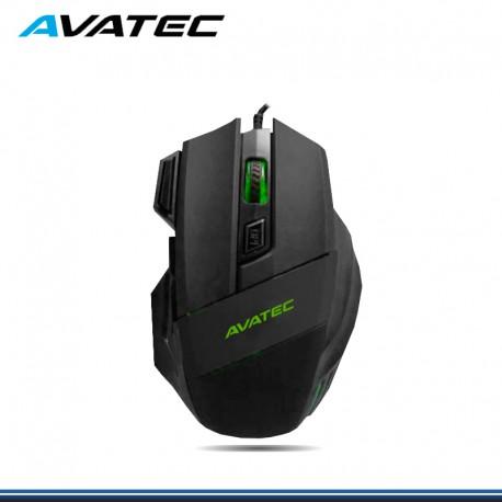 MOUSE AVATEC CMS-8406B RAIMBOW NEGRO USB HASTA 3200DPI
