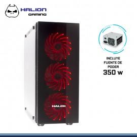 CASE HALION GAMING SCORPIO 5490 CON FUENTE 350W USB 3.0/USB 2.0