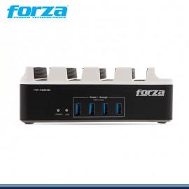 SUPRESOR DE PICO FORZA FSP-4412USB 4 TOMAS + 4 PUERTOS USB