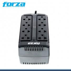 ESTABILIZADOR FORZA FVR-902 DE 900VA/450W 8 TOMAS