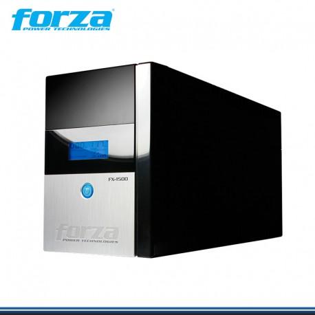 UPS FORZA FX-1500LCD-U 1500VA / 840W 8 TOMAS 220V